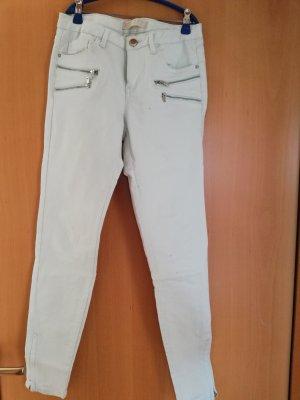 mintfarbene jeans