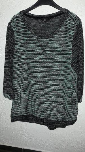 mintfarbener Pullover von H&m