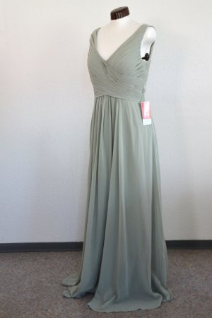 Mintfarbenes Abendkleid / Maxikleid / Brautjungfernkleid