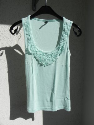 Ann Christine Crochet Top mint