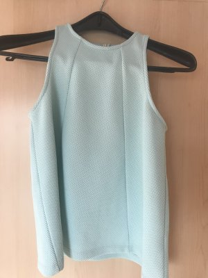 Mintfarbenes Top