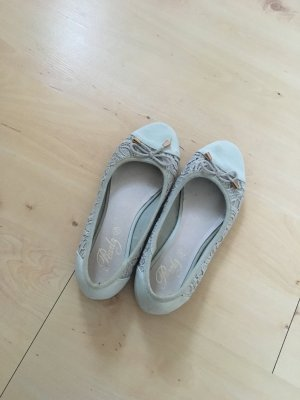 Mintgrüne Ballerinas