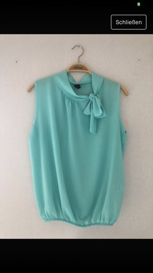 Mintgrüne Bluse