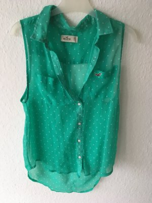 Mintgrüne Hollister Bluse
