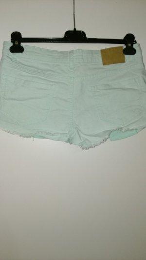 Mintgrüne Hotpants von C&A