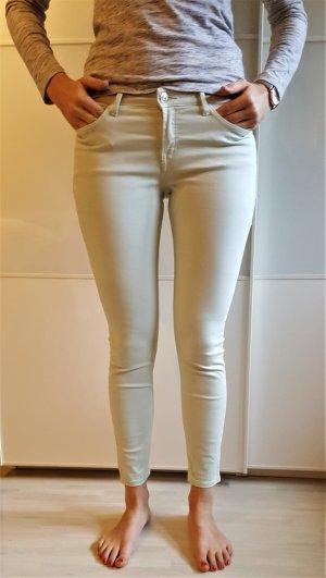 "Mintgrüne Skinny Jeans ""PATY"" von MANGO"