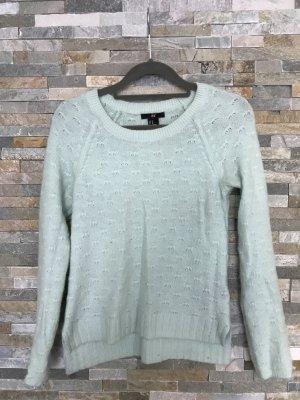 Mintgrüner H&M Angora Pullover in xs