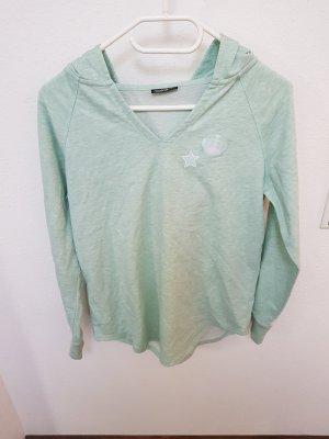 Mintgrüner Pullover Sweatshirt