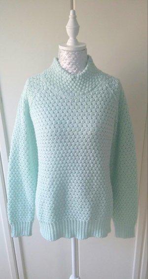 mintgrüner Pullover von Noisy May