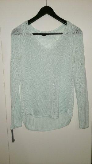 Mintgrüner Pullover XS