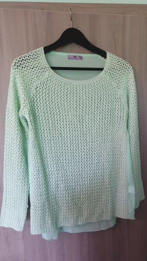 AJC Knitted Sweater mint-turquoise