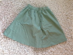 H&M Circle Skirt mint cotton