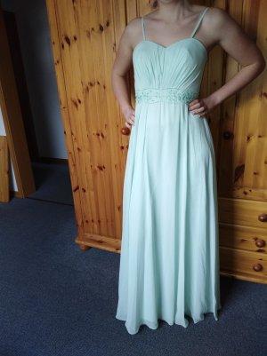Mintgrünes Abendkleid