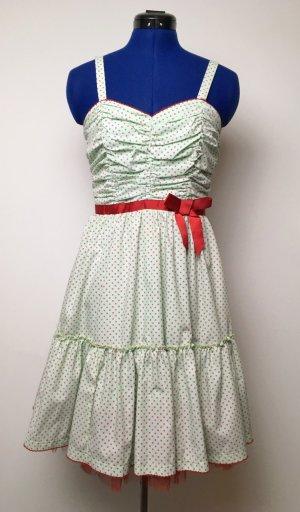 Mintgrünes Rockabilly-Kleid Gr. S