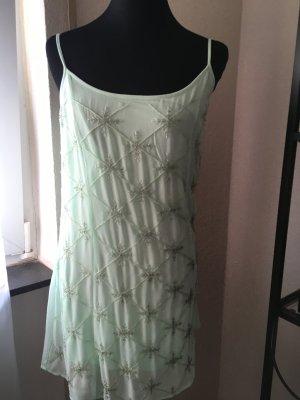 Mintgrünes Trägerkleid