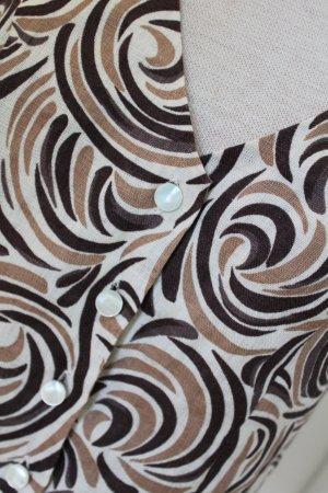 Minuet Blusa de lino multicolor Lino