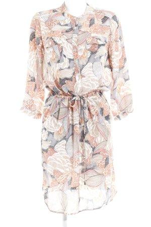Minus Blusenkleid florales Muster Casual-Look