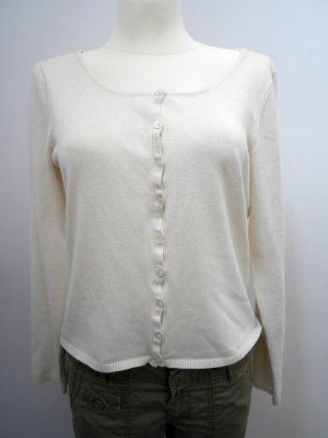 MINUS: Hübscher Cardigan * Strickjacke * Creme-Weiß * L
