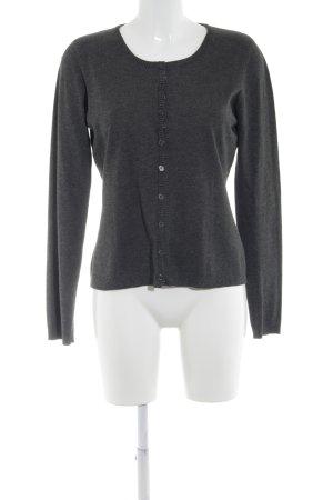 Minus Veste chemise gris foncé moucheté style décontracté