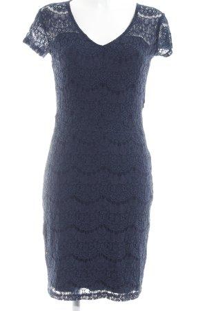 Minus Spitzenkleid dunkelblau Elegant