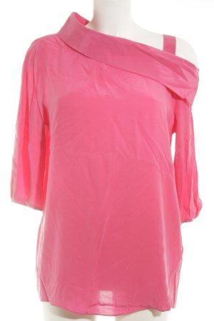 Minx by Eva Lutz Blouse met lange mouwen roze klassieke stijl