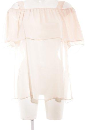 Minx by Eva Lutz Volanten top rosé romantische stijl