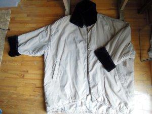 Minx Manteau d'hiver beige clair-noir