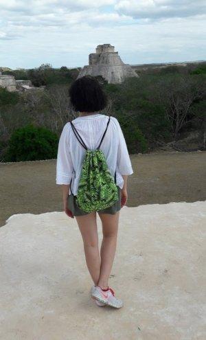 Zaino nero-verde