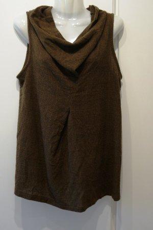 MIRA BECKER CRUBA Pullunder Gr. 38 (M) 100% Kaschmir Bluse Pullover Retro Look