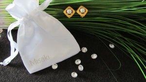 ⭐ Misaki ⭐Ohrringe / Clip Miramar NEU mit Etikett incl. Schmuckbeutel NP 75,-€!