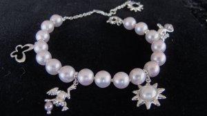 Misaki Perlen-Armband Rosa/Silber  NEU  NP 129,-€ !!