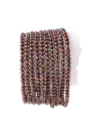 Misaki Bracciale di perle multicolore stile stravagante