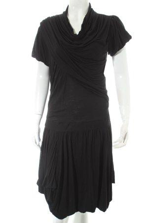 Misericordia Shirtkleid schwarz Casual-Look