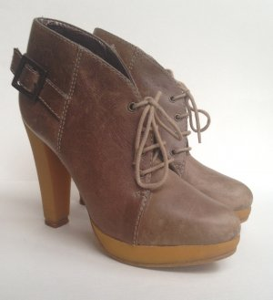 Mishuo High heeled Ankle Boots