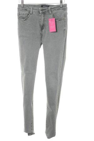 MISS ANNA Skinny Jeans grau Casual-Look