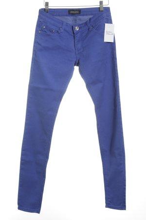 MISS ANNA Slim Jeans blau schlichter Stil
