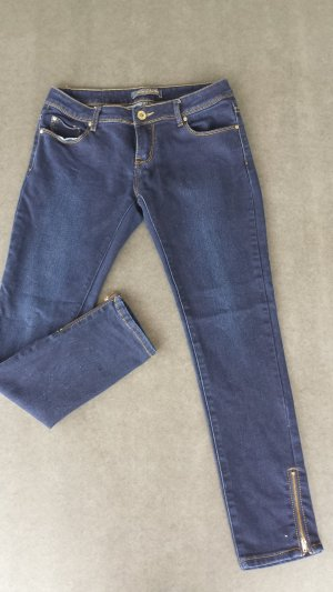 Stretch Jeans gold-colored-dark blue
