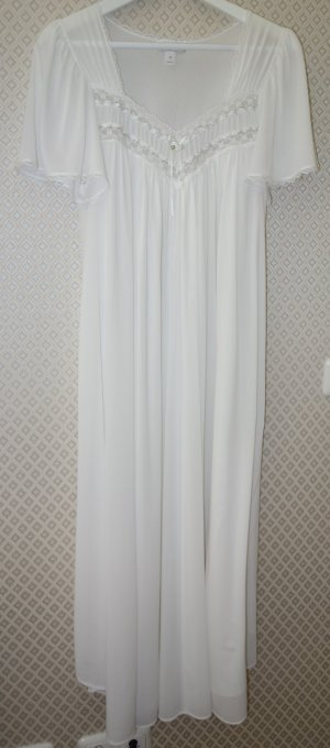 Camicia da notte bianco