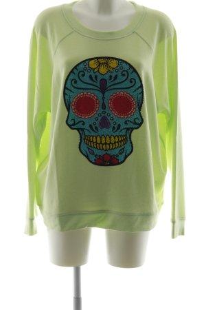 miss goodlife Sweatshirt Blumenmuster Business-Look