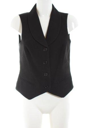 Miss H. Gilet de costume noir style d'affaires