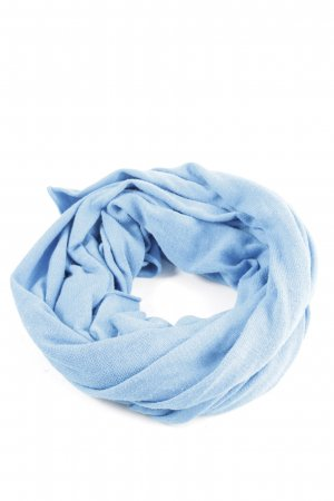 Miss H. Knitted Scarf blue business style