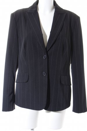 Miss H. Tweedblazer schwarz Nadelstreifen Business-Look