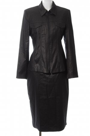 Miss H. Woven Twin Set black business style