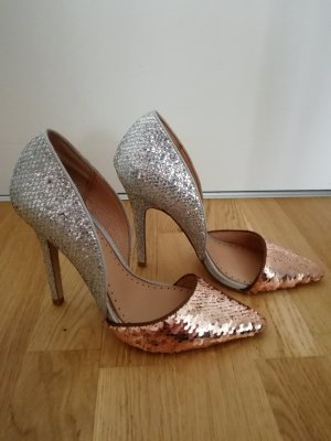 Miss KG 37 Pumps Kupfergold Silber