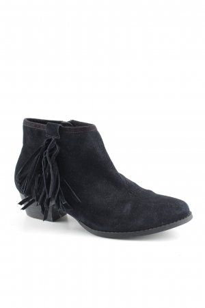 Miss kg Booties schwarz Country-Look