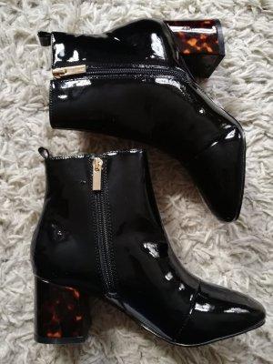 Miss KG Lack boots 36 Leoprint