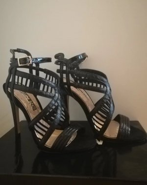 Miss kg High Heel Sandal black-gold-colored