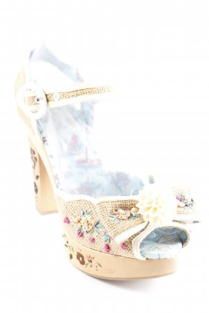 Miss l fire Clog Sandalen florales Muster Casual-Look