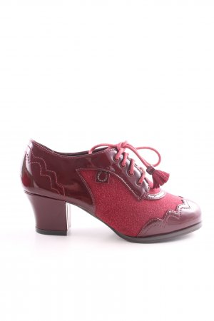 Miss l fire Lace-up Pumps red casual look