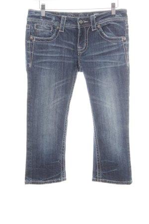 Miss Me 3/4 Jeans blau Casual-Look